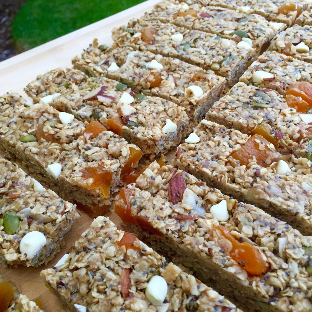 Apricot-Almond-Coconut Bars Recipe