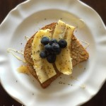 Brain Foods - Ezekiel bread with fruit and honey http://balancingforlife.com/?p=414